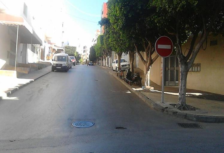 سكان شارع أحمد الهيبة بتطوان يستنجدون بالمسؤولين