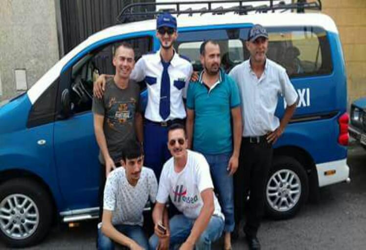 بادرة هي الأولى من نوعها..سائق طاكسي في تطوان بلباس موحد