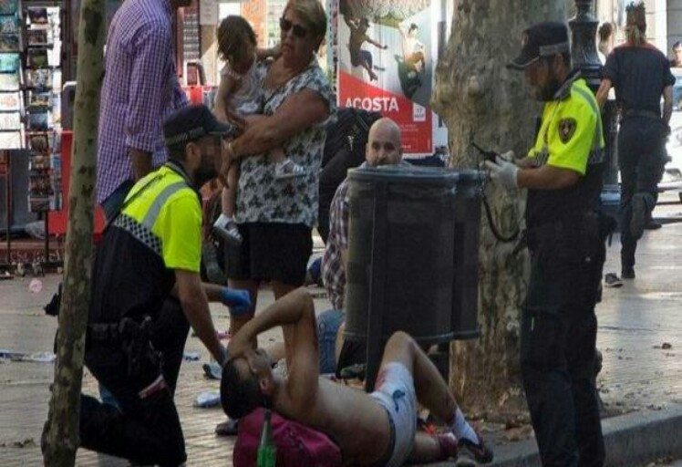 هذه جنسيات ضحايا حادث إعتداء الدهس في برشلونة