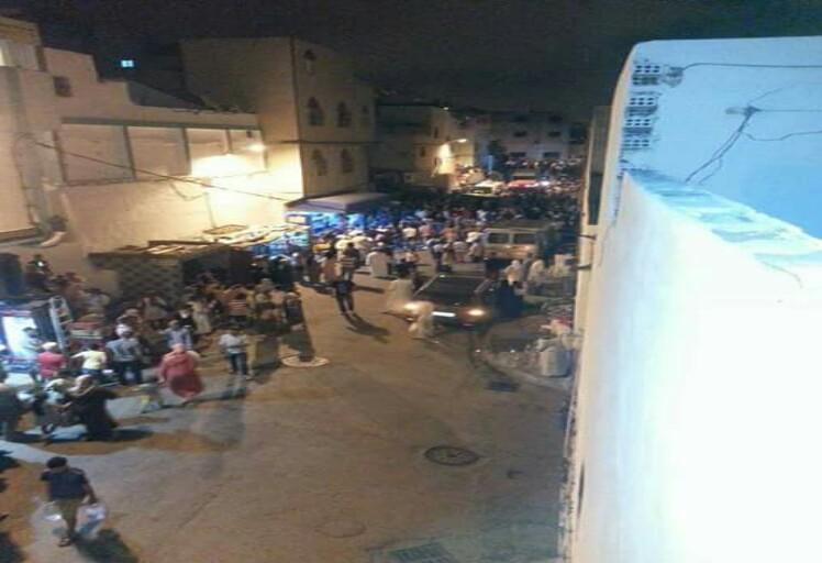 """مهاجرة تدهس موكب """"هدية"""" وتقتل طفلين بحي ديور المخزن في تطوان"""