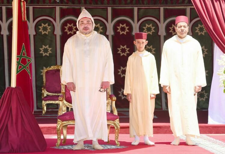 الملك يترأس بالمضيق حفل استقبال بمناسبة الذكرى ال 54 لميلاد جلالته