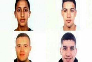 الشرطة الإسبانية تبحث عن أربعة مشتبهين في إعتداءات برشلونة