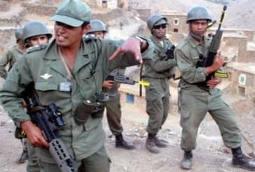 مهاجمة عناصر الجيش المغربي بالسيوف و الهروات ..في هذه المنطقة!!