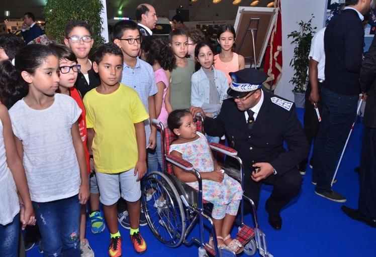 بالصور: افتتاح فعاليات النسخة الأولى للأبواب المفتوحة للمديرية العامة للأمن الوطني في الدار البيضاء