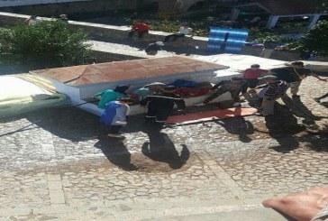 صور: شجار عنيف بين نساء يوقع ضحايا في منطقة رأس الماء بشفشاون