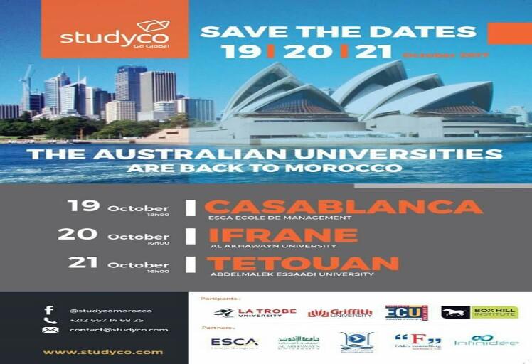 تطوان تحتضن أشغال اليوم الثالث للملتقى الثاني للجامعات الأسترالية