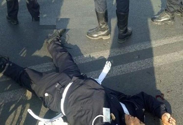 دراجة نارية تدهس شرطي مرور وترسله إلى المستعجلات بتطوان