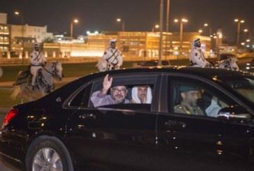 أمير قطر يخصص استقبال رائع على شرف الملك محمد السادس
