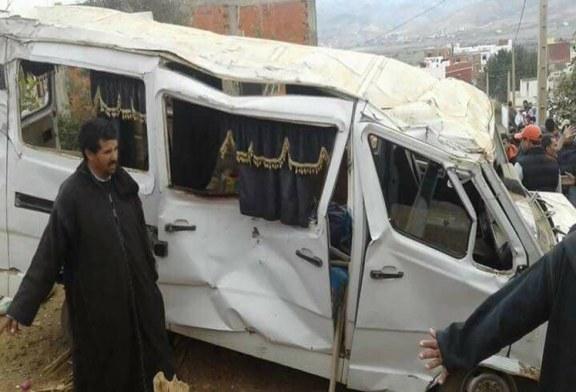 قتيل و 16 جريحا في حادث سير ضواحي تطوان