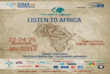 """بروكسل تحتضن منتدى غلوبز فوروم السنوي تحت شعار """"لنستمع إلى افريقيا"""" بالبرلمان الأوروبي"""