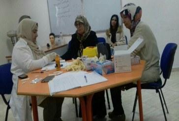بالصور: نساء مرتيل يستفدن من حملة طبية مجانية بجمعية الحياة
