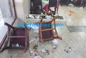 بالصور: تفاصيل إحباط محاولة تفجير مطعم بالعرائش