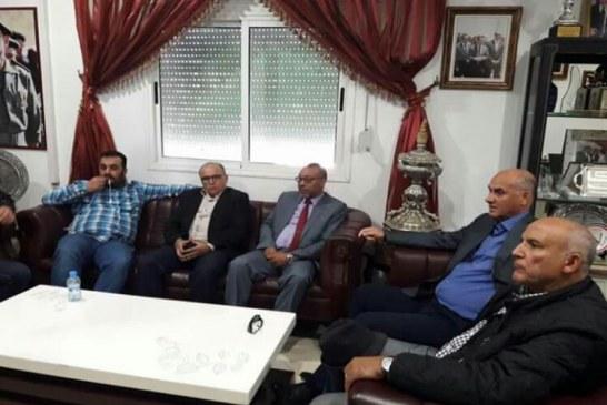اسريحين يقود اجتماعات مارطونية لحل  أزمة ملعب المغرب التطواني