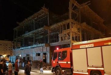 انهيار في مبنى يخلف جرحى ومفقودين بالحي الإداري  في تطوان