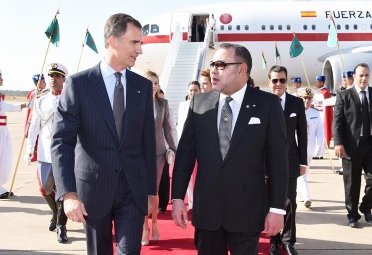 العاهل الإسباني يحل بالمغرب في يناير المقبل