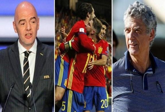 صحيفة ماركا الإسبانية: المنتخب الإسباني مُهدد بالاستبعاد من مونديال روسيا 2018