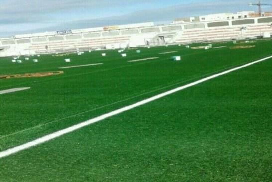 ملعب سانية الرمل سيكون جاهزا في 27 دجنبر الجاري