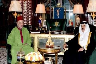 عاهل البحرين يبدي إعجابه بتطوان ويشيد بجهود الملك للنهوض بالمجال الثقافي