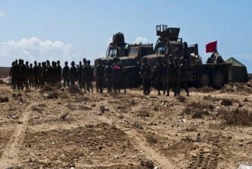 المغرب يحشد ترسانة عسكرية بمعبر الكراكرات لتنفيذ هذا الأمر