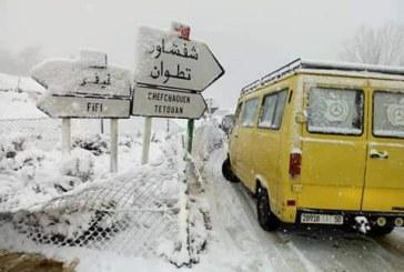 توجيهات هامة للمسافرين لتفادي 41 طريقا مغلقا بسبب الثلوج