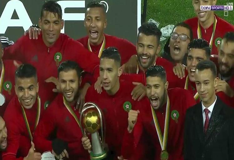 المنتخب المغربي يتوج بكأس إفريقيا للمحليين بعد فوزه على نيجيريا