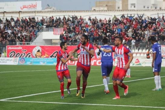 المغرب التطواني يُحقق فوزه الأول في ملعبه على حساب ش. أ.خنيفرة