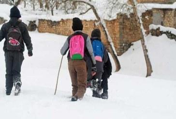 استئناف الدراسة في 865 مؤسسة تعليمية كانت مغلقة بسبب الثلوج