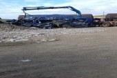 رسميا: ستة قتلى و 14 جريح في حادث اصطدام قطار بسيارة نقل عمال بطنجة