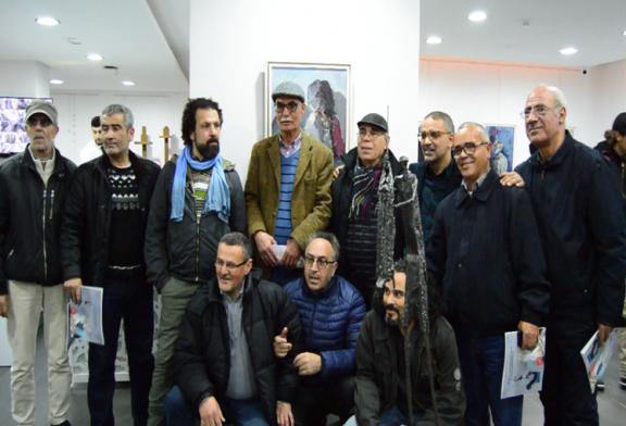 بالفيديو: معرض تشكيلي للفنانين محمد غزولة ويوسف الحداد بتطوان