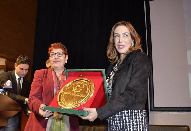 المؤتمر الوطني الخامس للغة العربية يكرم السوبرانو سميرة القادري