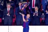 البارصا يتوج بطلا لكأس إسبانيا بخماسية ضد إشبيلية