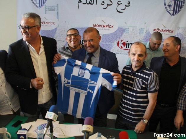 اتحاد طنجة يتعاقد مع الجزائري بنشيخة