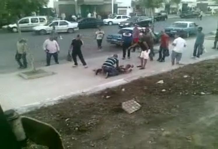 بالفيديو:حسابات شخصية تؤدي إلى جريمة قتل بشارع الدار البيضاء بتطوان