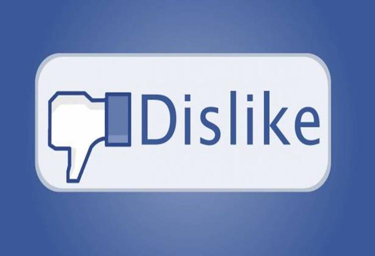 10ضغطات على زر عدم الإعجاب (Dislike) تؤدي إلى حذف البوست تلقائياً!!