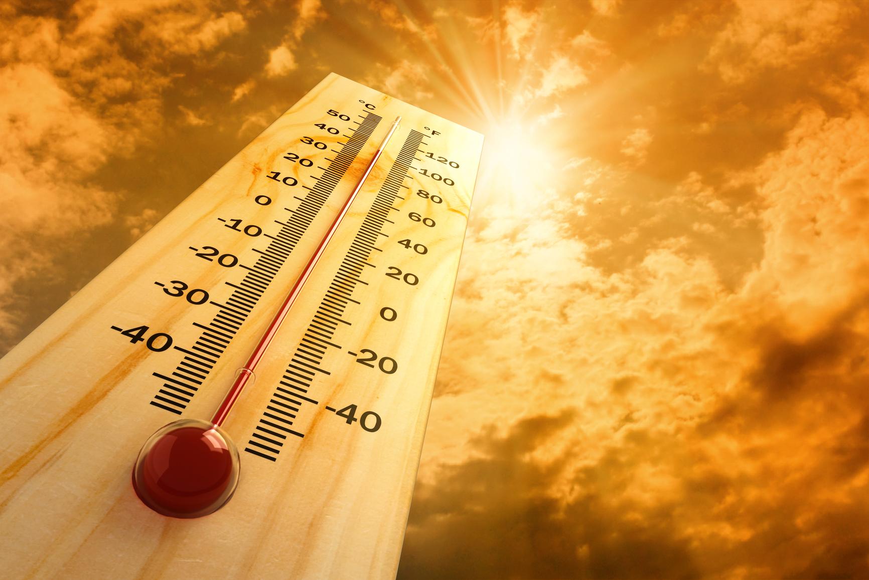 نشرة إندارية: تحذيرات من حرارة مفرطة ابتداء من الغد