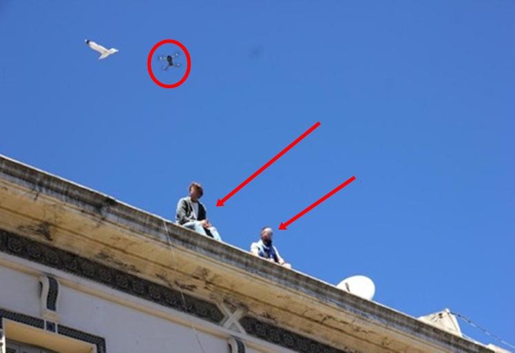 طائرة بدون طيار فوق مسيرات عيد العمال تستنفر الأجهزة الأمنية في طنجة