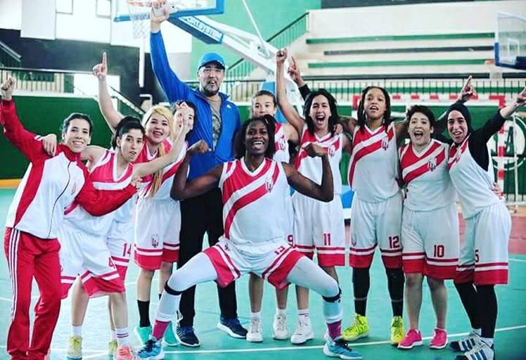 فريق المغرب التطواني لكرة السلة إناث يحقق حلم الصعود للقسم الوطني الممتاز للسيدات