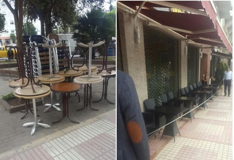 الشرطة الإدارية تشن حملة واسعة النطاق لتحرير الملك العمومي في تطوان