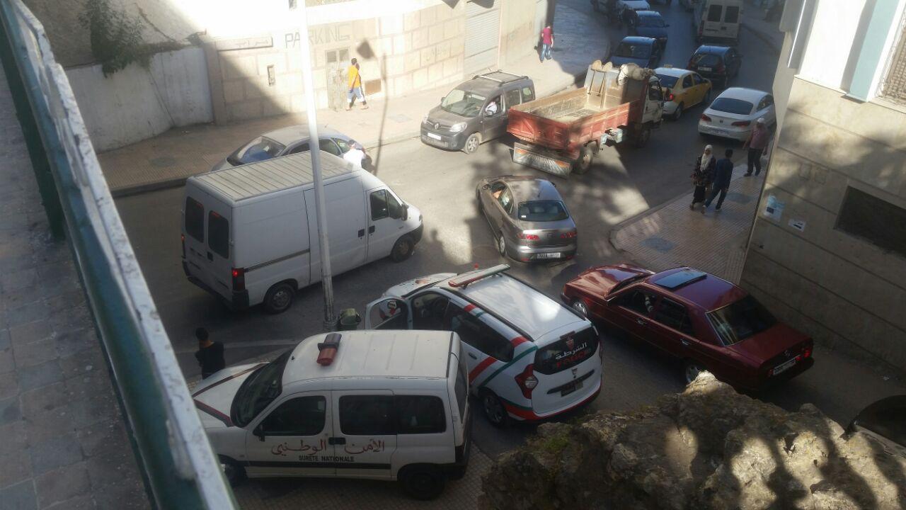 صور: أشغال تهيئة شوارع وسط تطوان تسبب فورة غضب لمستعملي الطريق