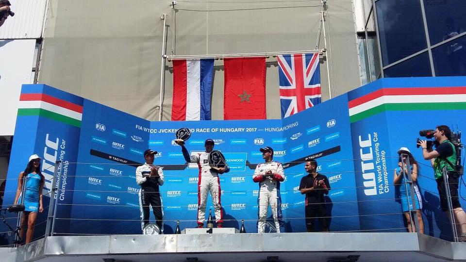 """تتويج المغربي """"مهدي بناني"""" بلقب بطولة العالم لسباق السيارات (WTCC)"""