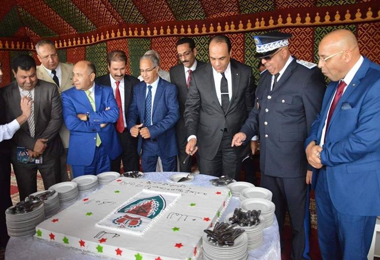 شاهد كيف أحتفلت ولاية أمن تطوان بالذكرى 61 لتأسيس الأمن الوطني