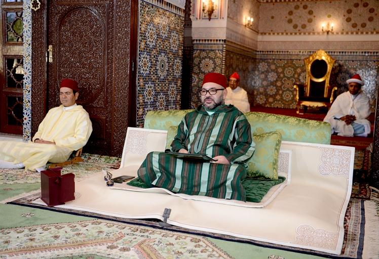 الملك يحيي ليلة القدر ويقيم مأدبة إفطار بمسجد الحسن الثاني