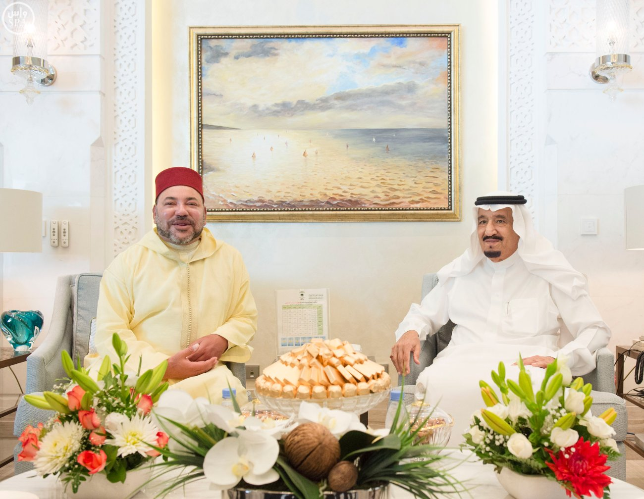 طنجة تستعد لأستقبال ضيف المغرب الكبير العاهل السعودي مرفوقاً لاول مرة بـ'مجلس العائلة السعودي'