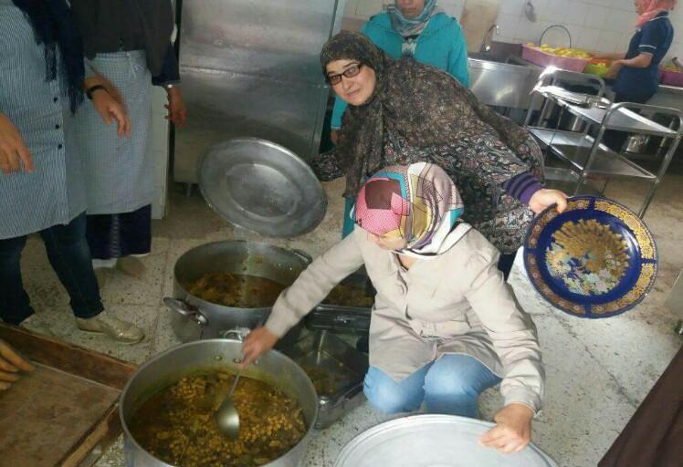 جمعية الحياة تقتسم وجبة الغداء مع نزلاء مستشفى الأمراض العقلية بتطوان