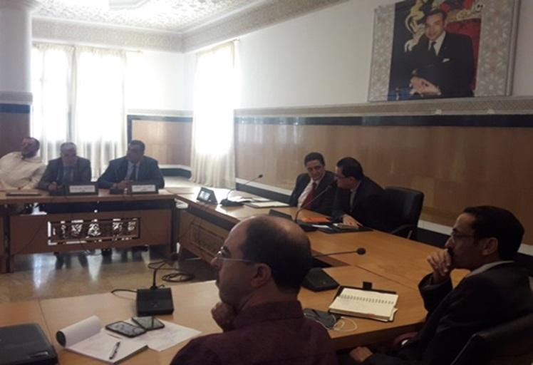 غرفة التجارة والصناعة والخدمات لجهة طنجة تطوان الحسيمة تتدارس تطوير المنظومات الإقتصادية بإقليم تطوان